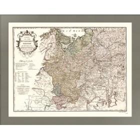 Карта Российская империя в Европе