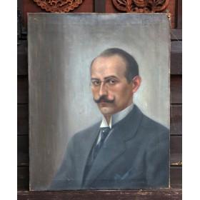Старинный портрет Hercule Poirot