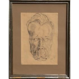 Портрет Фридриха Ницше