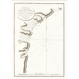 Старинная карта Пролив Терней