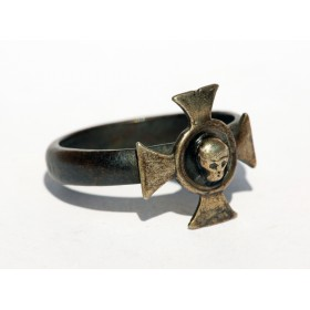 Старинное кольцо Крест храбрых