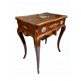 Антикварный  прикроватный столик в стиле неорококо