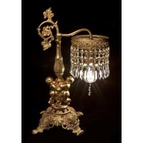Будуарная хрустальная лампа Купидоны