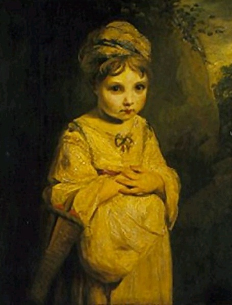 Джошуа Рейнольдс Девочка с земляникой