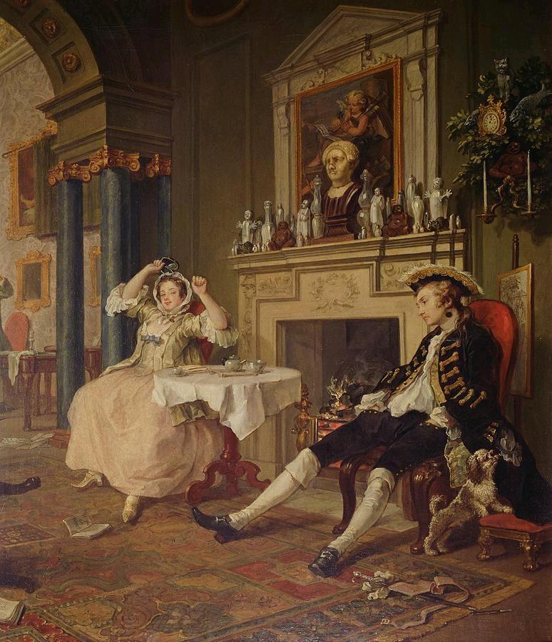 Уильяим Хогарт. После свадьбы