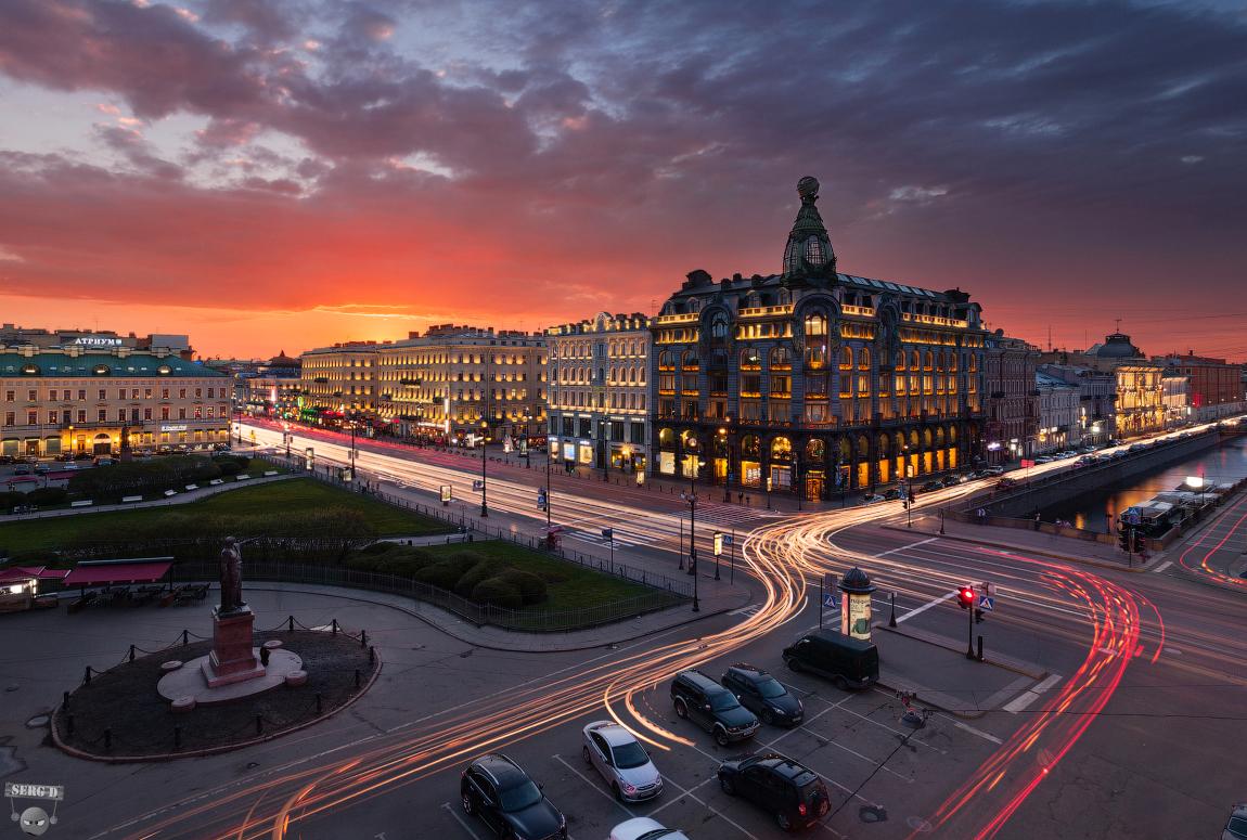 Здание Зингер На Невском проспекте