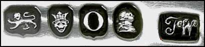 Клемо Лондонское старинное английское серебро