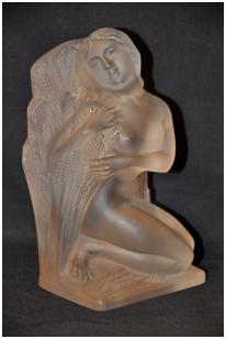 Кабинетная скульптура Арт-деко Рене Лалик. Лето Времена года 1939