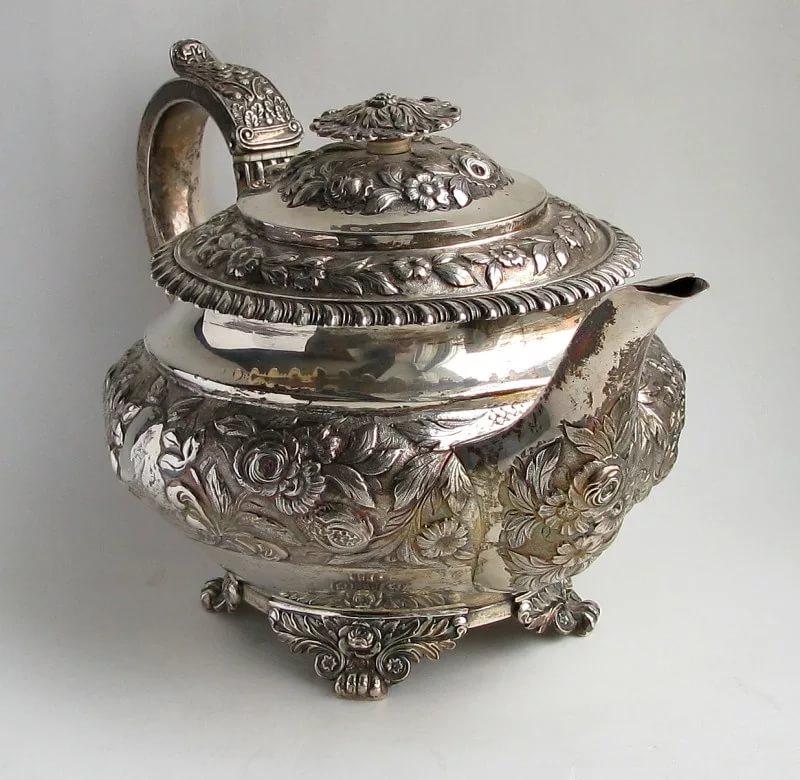 Лондонское старинное английское серебро