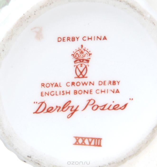 Клейма антикварного фарфора фабрики Derby (Дерби)