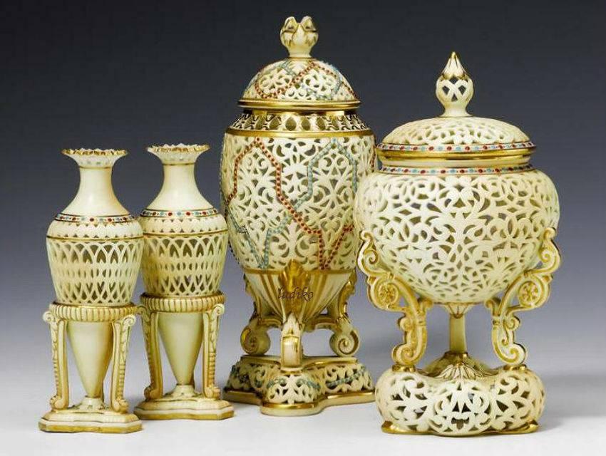 Фабрика английского фарфора Worcester Royal Porcelain Works (Ворчестер)