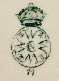 Клейма английского фарфора Worcester Royal Ворчестер