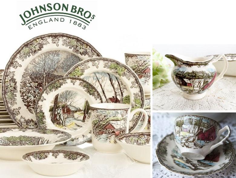 Старинный английский фарфор Johnson Brothers (Братья Джонсоны)
