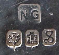 Клеймо Эдинбургского серебра