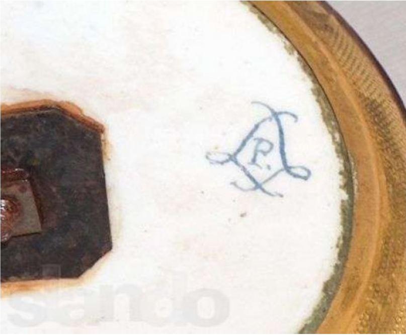 Клейма старинного сервского фарфора